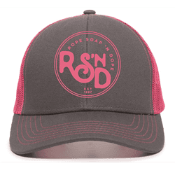 Picture of RSND Circle Snapback Hat - Fuchsia