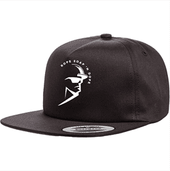 Picture of RSND Man Flat Bill Snap Back - Black