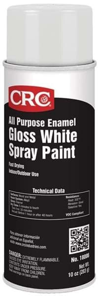 Picture of All Purpose Enamel Spray Paint-Gloss White, 10 Wt Oz