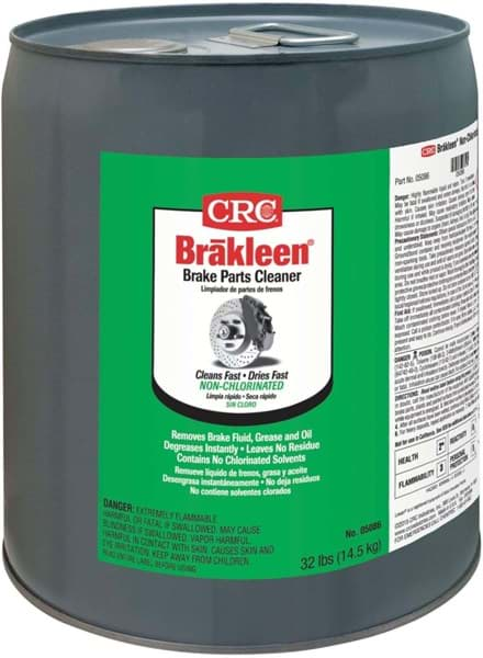 Picture of Brakleen Brake Parts Cleaner - Non-Chlorinated, 5 Gal