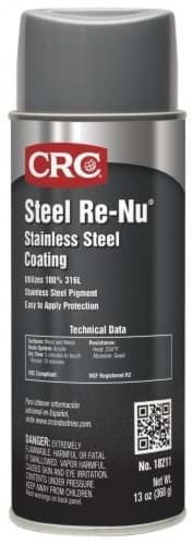 Picture of Steel Re-Nu Stainless Steel Coating, 13 Wt Oz