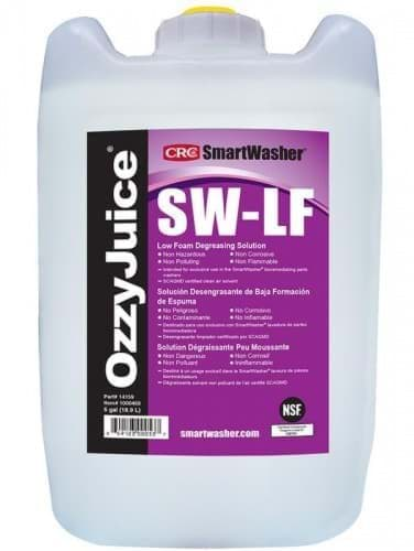 Picture of SmartWasher SW-LF OzzyJuice Low Foam Degreasing Solution, 5 Gal