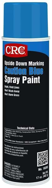 Picture of Upside Down Marking Paints-Caution Blue, 17 Wt Oz