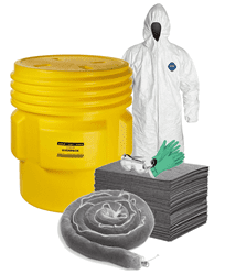 Picture of Spill Kit, Oil and Water, 65 Gallon w/ PPE for Two People