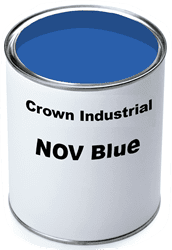 Picture of Paint Gallon Industrial Crown - NOV Blue