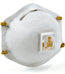 Picture of Respirator Disposable w/ Exhale Valve 3M– 10pack