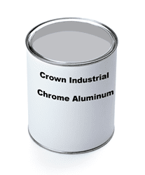 Picture of Paint Gallon Industrial Crown – Chrome Aluminum